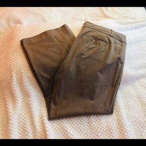 LOFT Tan Julie Trouser Size 14